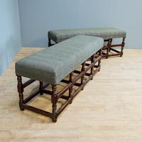 Pair of Oak Benches (4 of 7)