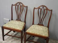 Pair of George III Mahogany Dining Chairs (7 of 10)