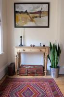 19th Century Pine Hall Table with Single Long Drawer (3 of 19)