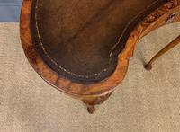 Burr Walnut Kidney Shaped Table (2 of 12)