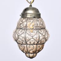 Set of 4 Murano-type Basket Light Fittings (4 of 10)