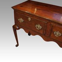 Fine George III Oak Cabriole Leg Dresser (5 of 8)