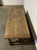 Rustic French Oak 19th Century Farmhouse Kitchen Table (7 of 31)