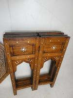 Indian Octagonal Folding Chess Top Table (6 of 8)