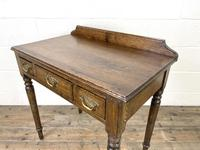19th Century Antique Oak Side Table (7 of 10)