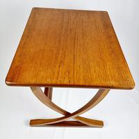 Nathan X-frame Legged Nest of Tables (8 of 11)