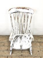 Antique Distressed Painted Rocking Chair (3 of 9)