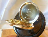 Swiss Vertex Pocket Watch 1926 15 Jewel 10ct Rose Gold Filled Case FWO (10 of 12)
