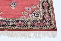 """Vintage / Retro Wool Rug ~ 8' x 4'6"""" Eastern (3 of 8)"""