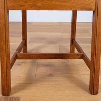 Set of 6 1930s Golden Oak Dining Chairs in the Manner of Heal's (13 of 16)