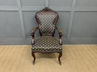Pair of 19th Century French Rosewood Armchairs (7 of 16)