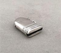 First World War novelty silver 'shell' vesta (4 of 9)