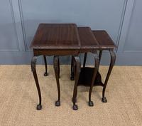 Nest of 3 Mahogany Tables (2 of 12)