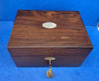 William IV Rosewood Jewellery Box With A Side Drawer (2 of 8)