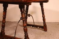 Spanish Table from the 16th Century in Walnut (12 of 13)