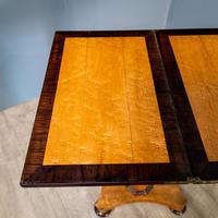 Bird's Eye Maple Folding Table (5 of 12)
