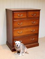 Late 19th Century Walnut Chest of Drawers (5 of 12)
