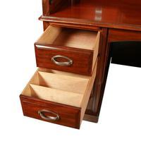 English Mahogany Roll Top Desk (7 of 9)