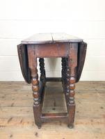 18th Century Antique Oak Gateleg Table (5 of 10)
