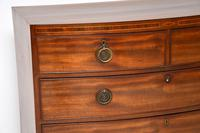 Antique Georgian Mahogany Bow Front Chest of Drawers (8 of 10)