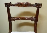 Set of 6 William IV Rosewood Dining Chairs (8 of 9)