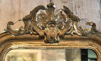 Antique French Crested Mirror (4 of 4)