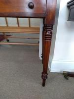 Victorian Mahogany Writing Table or Dressing Table (4 of 5)