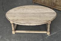 Bleached Oak Drop Flap Coffee Table (15 of 17)