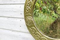 Arts & Crafts Movement Scottish / Glasgow School Circular Wall Mirror c.1900 (21 of 24)