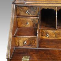 19th Century Walnut Bureau Bookcase (13 of 19)