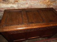 Jacobean Paneled Oak Coffer (2 of 7)