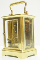Fine Antique French 8-day Carriage Clock Timepiece - Interesting & Rare Size c.1870 (8 of 13)