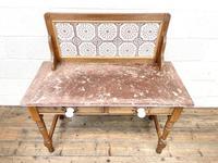 Antique Pine Tile Back Washstand (2 of 15)