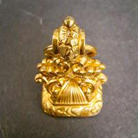 19th Century Pinchbeck Fob (2 of 4)
