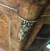 Victorian Burr Walnut Inlaid Credenza With Ormolu Mounts (3 of 27)
