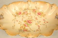 Antique Crown Devon Shaped Decorated Dish (2 of 6)