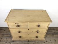 Small Victorian Antique Pine Chest of Drawers (4 of 15)