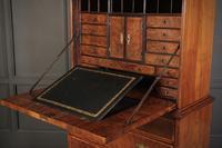 18th Century Walnut Escritoire Cabinet on Chest (10 of 14)