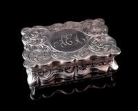 Antique silver snuff box, Deakin and Francis (2 of 12)