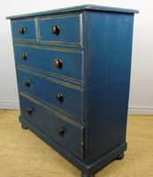 Charming Victorian Painted Chest of Drawers 19th Century (6 of 6)