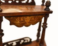 Victorian Whatnot Bookshelf Antique 1860 Furniture (4 of 13)
