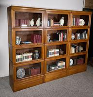 Three Stacking Bookcases In Light Oak Composed 4 Element-20th Century-france (8 of 11)