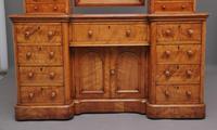19th Century Satin Birch Dressing Table (5 of 14)