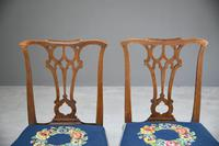 Pair of Chippendale Style Chairs (3 of 12)