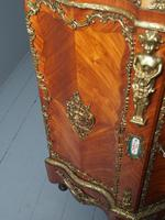 Antique Louis XVI Style Kingwood & Marble Cabinet (7 of 18)
