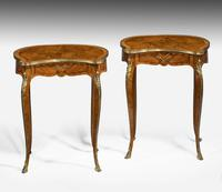 Pair of Late 19th Century Kidney Shaped Occasional Tables (7 of 8)