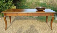 Fabulous Large French Fruitwood Farmhouse Table (7 of 11)