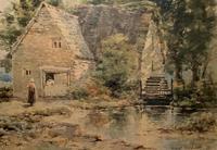 William Charles Goddard Near Saltash Cornish Landscape Painting (4 of 14)