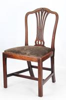 Pair of Antique Georgian Mahogany Side Chairs (3 of 13)