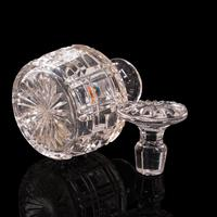 Pair of Antique Sherry Decanters, English, Glass, Spirit, Liquor Flask, Edwardian (10 of 12)